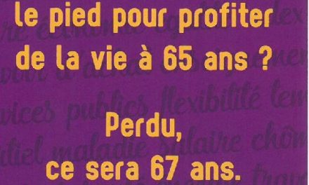 La pension à 65 ans? Et bien non, 67 ans! On dit merci qui? Merci le MR
