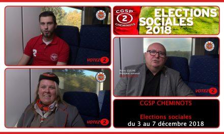 Elections sociales 2018 : Notre clip de campagne – Votez 2
