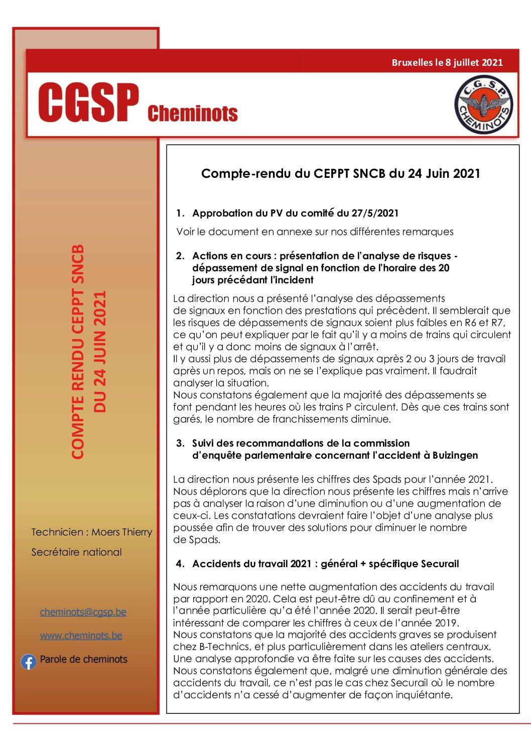 CEPPT SNCB 24 juin 2021